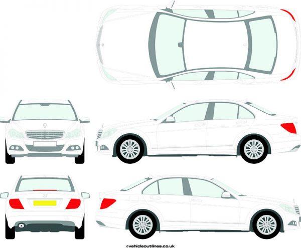 Cars Mercedes C-Class 2011-14