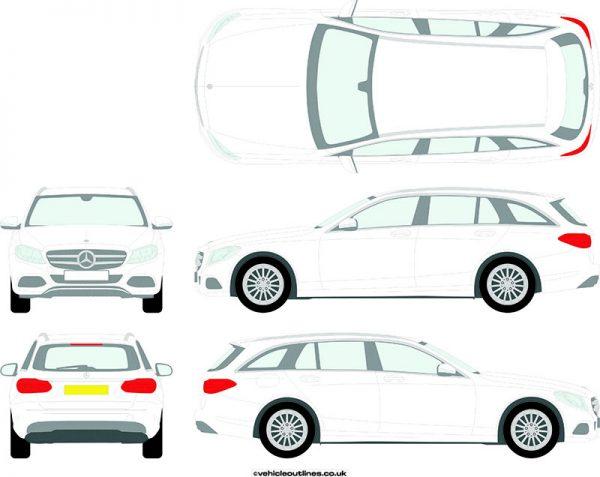 Cars Mercedes C-Class 2014-21