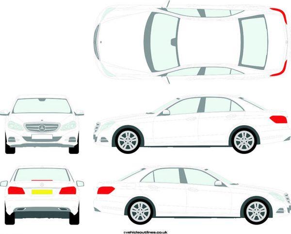 Cars Mercedes E-Class 2013-16