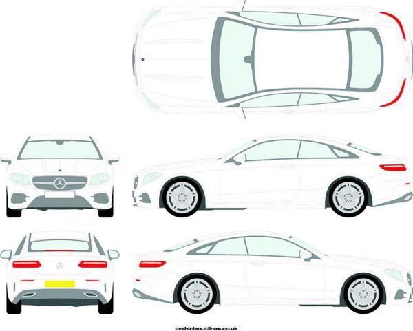 Cars Mercedes E-Class 2017-21