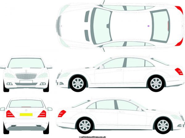 Cars Mercedes S-Class 2010-16