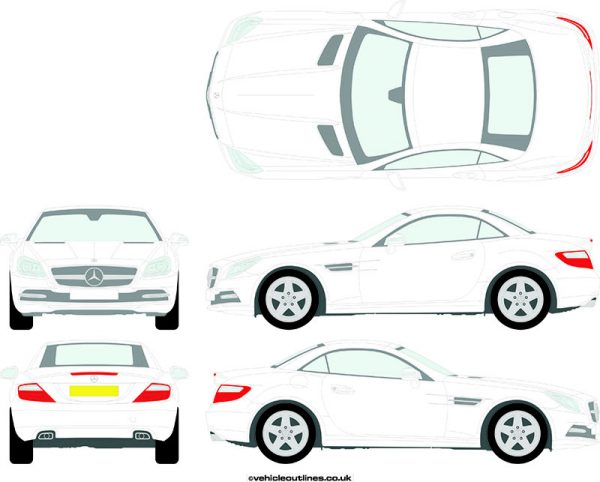Cars Mercedes SLK 2011-19