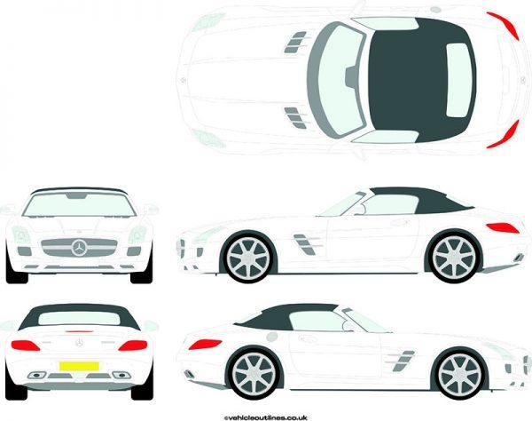 Cars Mercedes SLS 2011-15