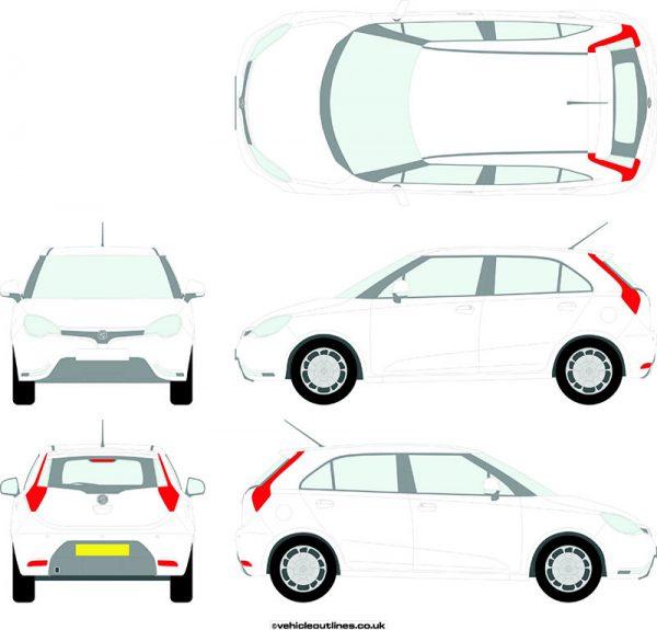 Cars MG 3 2013-17