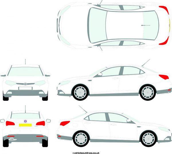 Cars MG 6 2012-17