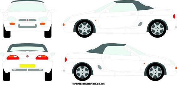 Cars MG F 1995-2001