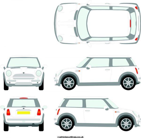 Cars Mini One/Cooper 2000-06