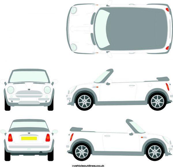 Cars Mini Convertible 2004-08