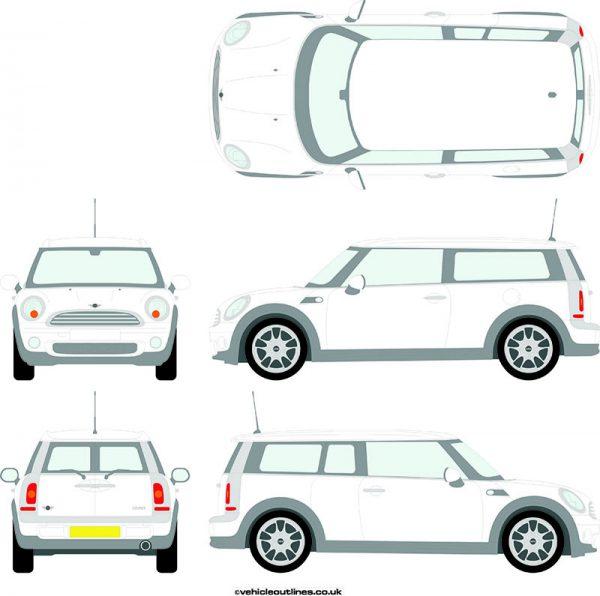 Cars Mini Clubman 2007-14