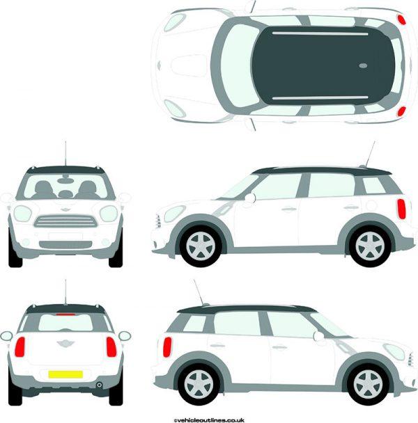 Cars Mini Countryman 2010-13