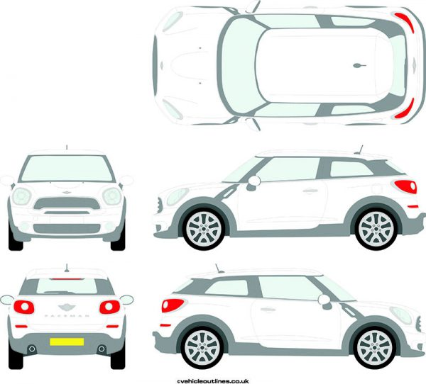Cars Mini Paceman 2012-16