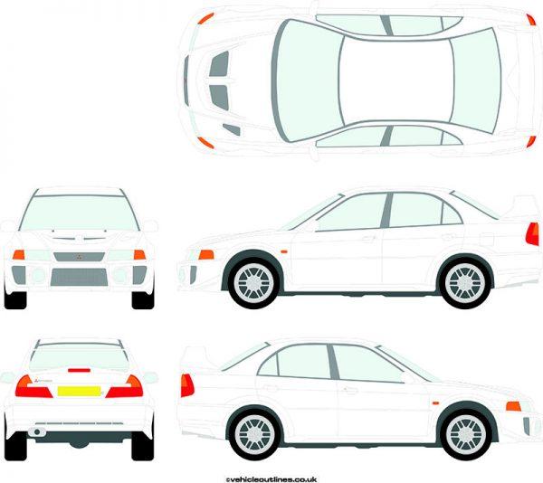 Cars Mitsubishi Evolution 1998-99