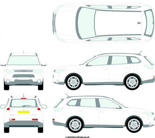 4x4 Mitsubishi Outlander 2012-15