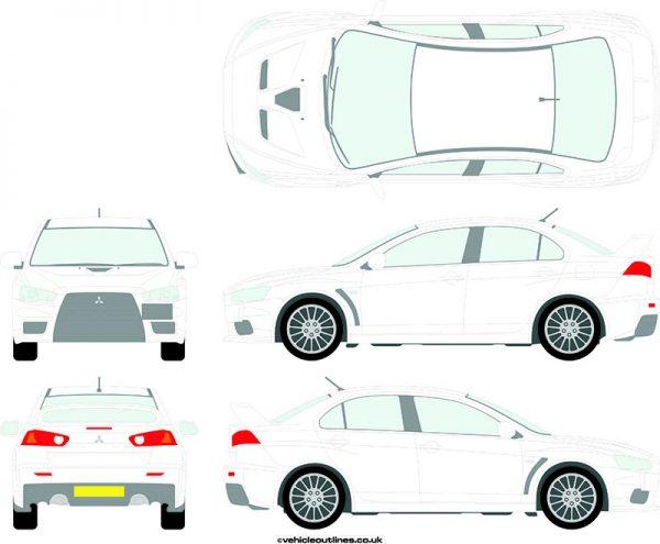 Cars Mitsubishi Evolution 2008-14