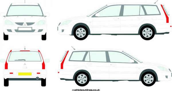 Cars Mitsubishi Lancer 2005-06
