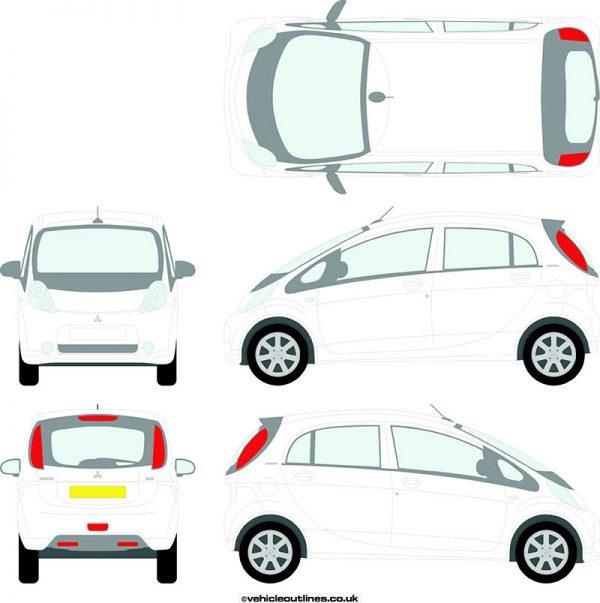 Cars Mitsubishi i 2010-16