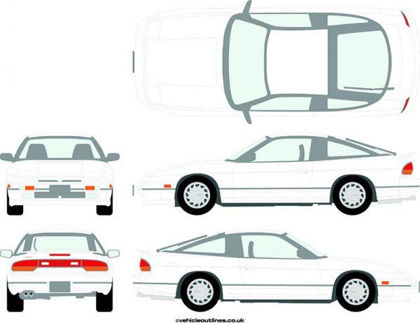 Cars Nissan 180SX 1989-91