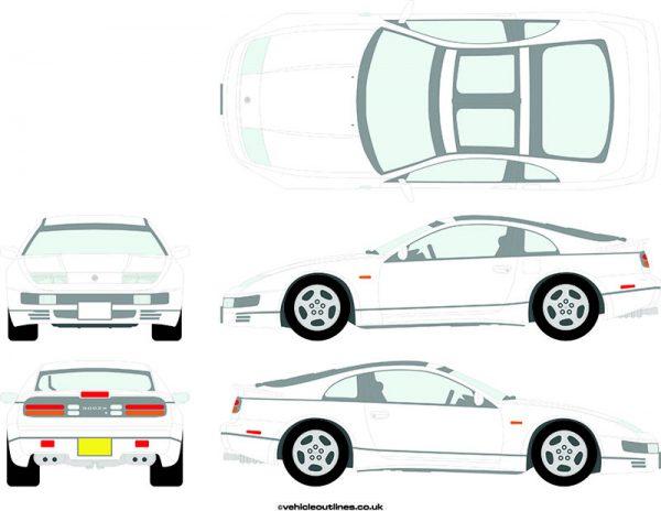 Cars Nissan 300ZX 1989-2000