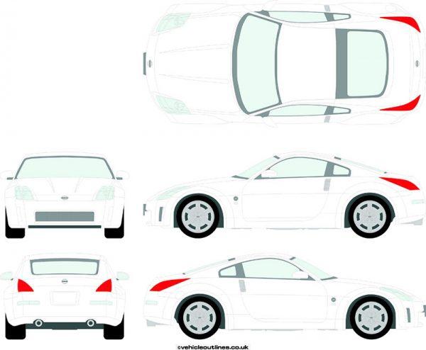 Cars Nissan 350z 2003-09