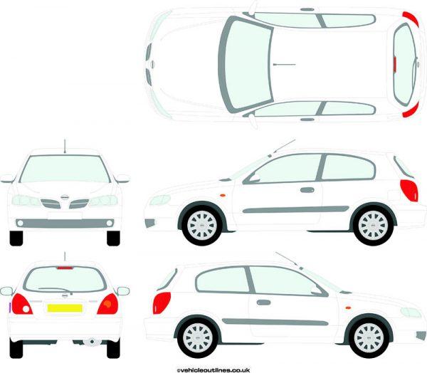 Cars Nissan Almera 2003-06