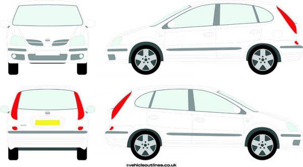Cars Nissan Almera 2000-06