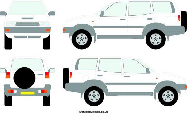 4x4 Nissan Terrano 1993-96
