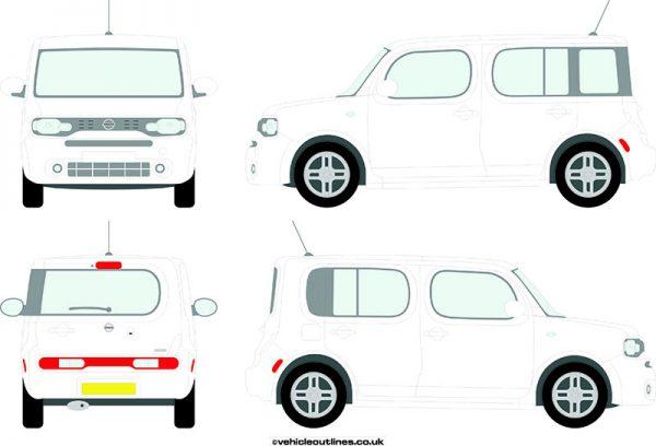 Cars Nissan Cube 2010-14
