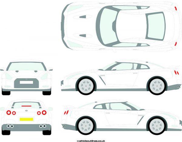 Cars Nissan GTR 2009-20