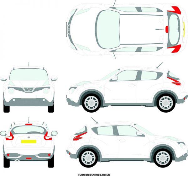 Cars Nissan Juke 2014-19