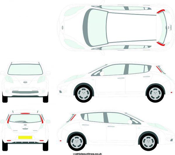 Cars Nissan Leaf 2011-18