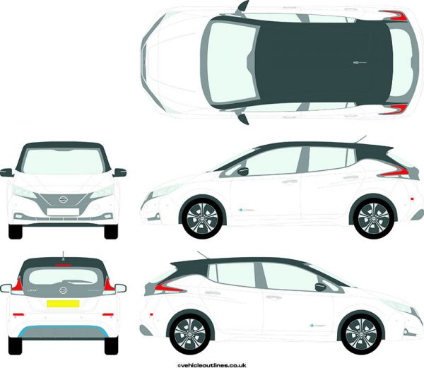 Cars Nissan Leaf 2018-21