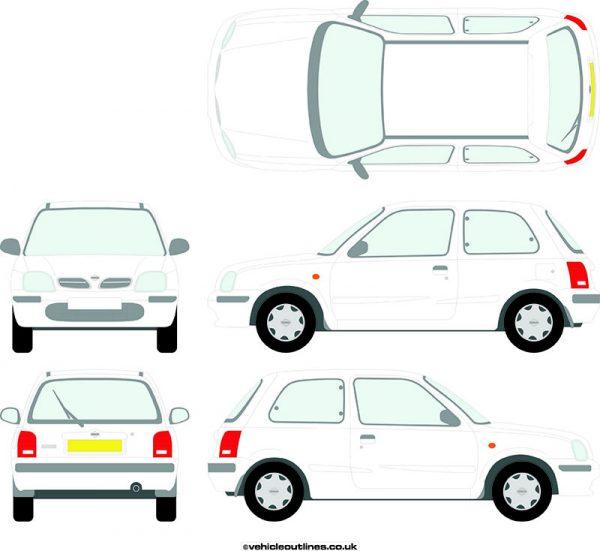 Cars Nissan Micra 1998-2002