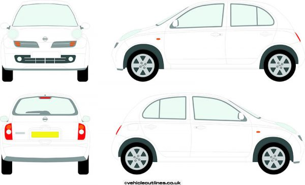 Cars Nissan Micra 2003-10