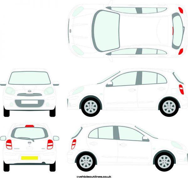 Cars Nissan Micra 2010-13