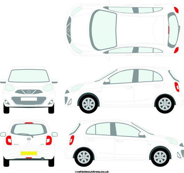 Cars Nissan Micra 2013-17