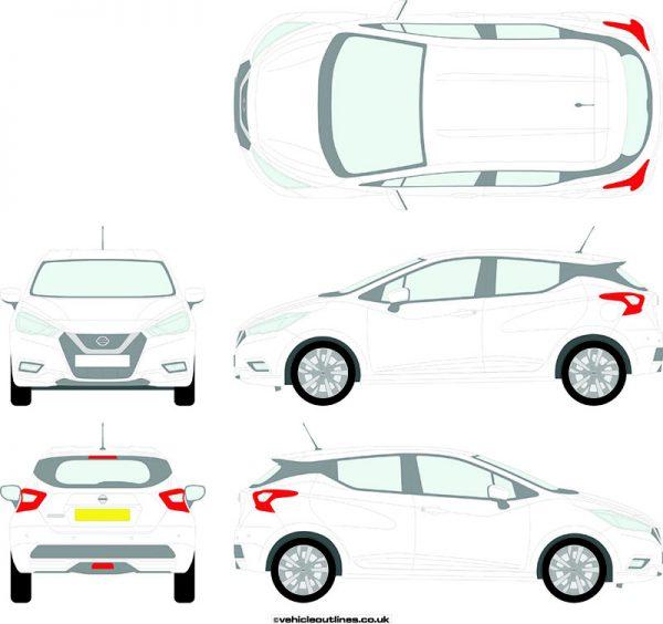 Cars Nissan Micra 2017-21