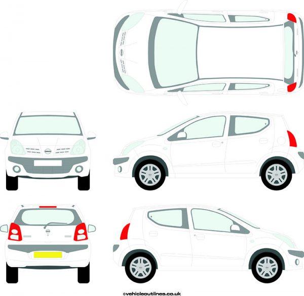 Cars Nissan Pixo 2009-13