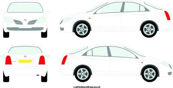 Cars Nissan Primera 2002-06