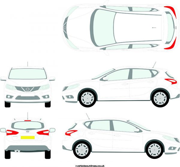 Cars Nissan Pulsar 2014-17