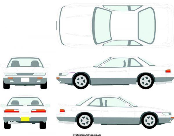 Cars Nissan Silvia 1989-94