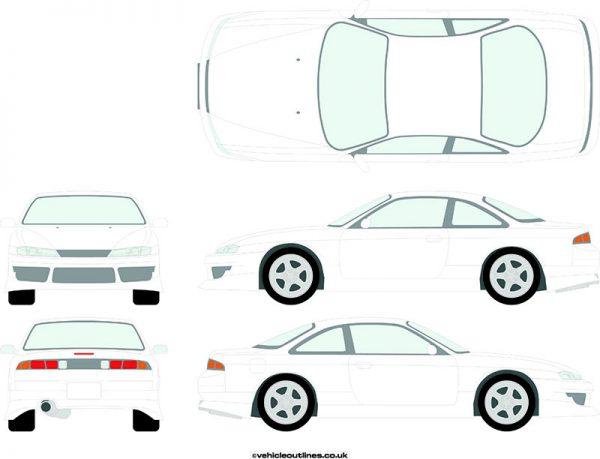 Cars Nissan S14 1995-1999