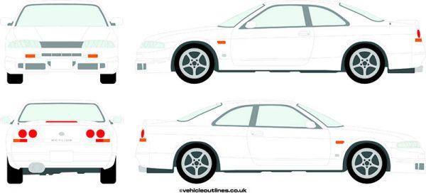 Cars Nissan Skyline 1995-98