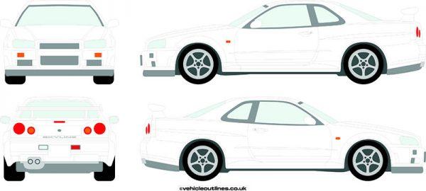 Cars Nissan Skyline 1998-2003