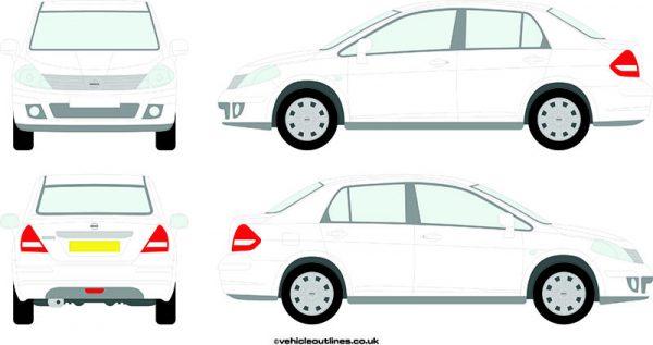 Cars Nissan Tilda 2007-12