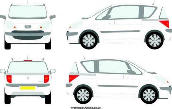 Cars Peugeot 1007 2005-08
