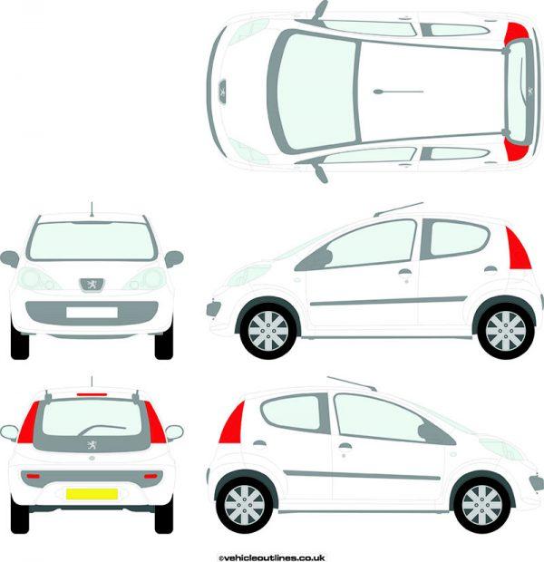 Cars Peugeot 107 2005-12