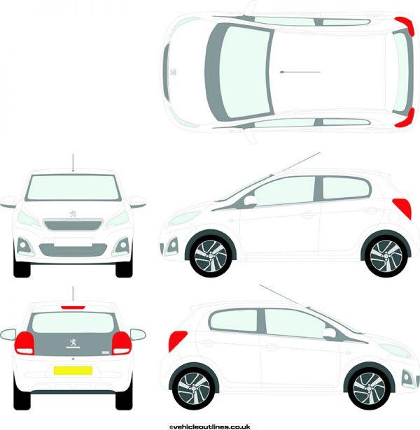 Cars Peugeot 108 2014-21