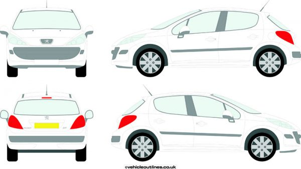 Cars Peugeot 207 2006-12