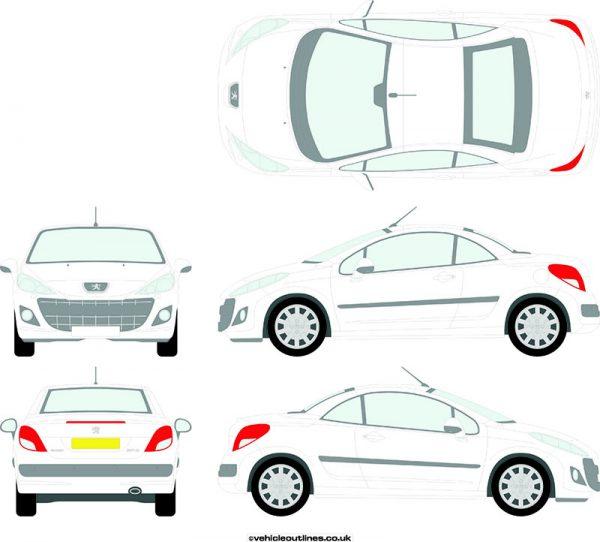 Cars Peugeot 207cc 2010-14