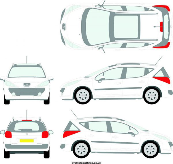 Cars Peugeot 207sw 2007-10